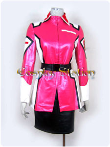 Gundam Seed Flay Allster Cosplay Uniform Costume