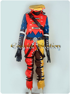 .Hack // G.U Azure Kite / Tri Edge Cosplay Costume