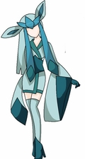 Pokemon Glaceon Kimono Commission Cosplay Costume
