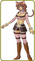 .Hack Tabby Commission Cosplay Costume