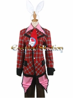 Heart No Kuni No Alice Peter White Cosplay Costume