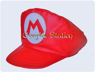 Nintendo Mario Red Cosplay Hat