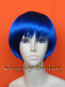 Dark Blue Cosplay Wig