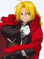 Fullmetal Alchemist Edward Elric Cosplay Costume_New Design!