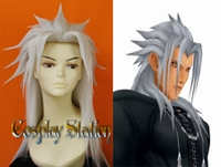 Kingdom Hearts Organization XIII Xemnas Cosplay Wig