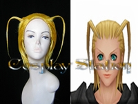 Kingdom Hearts II Organization XIII Larxene Cosplay Wig_New Design!
