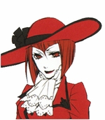 "Black Butler Kuroshitsuji Madam Red Cosplay Wig_<font color=""red"">New Arrival!</font>"