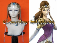 The Legend of Zelda Princess Zelda  Cosplay Wig