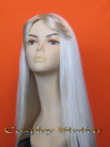 Castlevania Alucard bloned Cosplay Wig