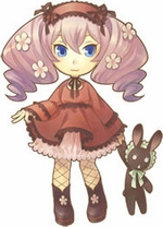 "Harvest Moon Luna Cosplay Costume_<font color=""red"">New Arrival!</font>"