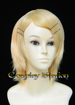 Vocaloid 2  Cosplay Kagamine Rin Cosplay Wig
