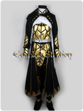 Suikoden V Queen's Knight Kyle Cosplay Costume