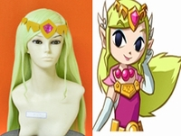 The Legend of Zelda Cosplay Wind Waker Zelda Wig