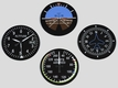 Aircraft Gauge Coasters