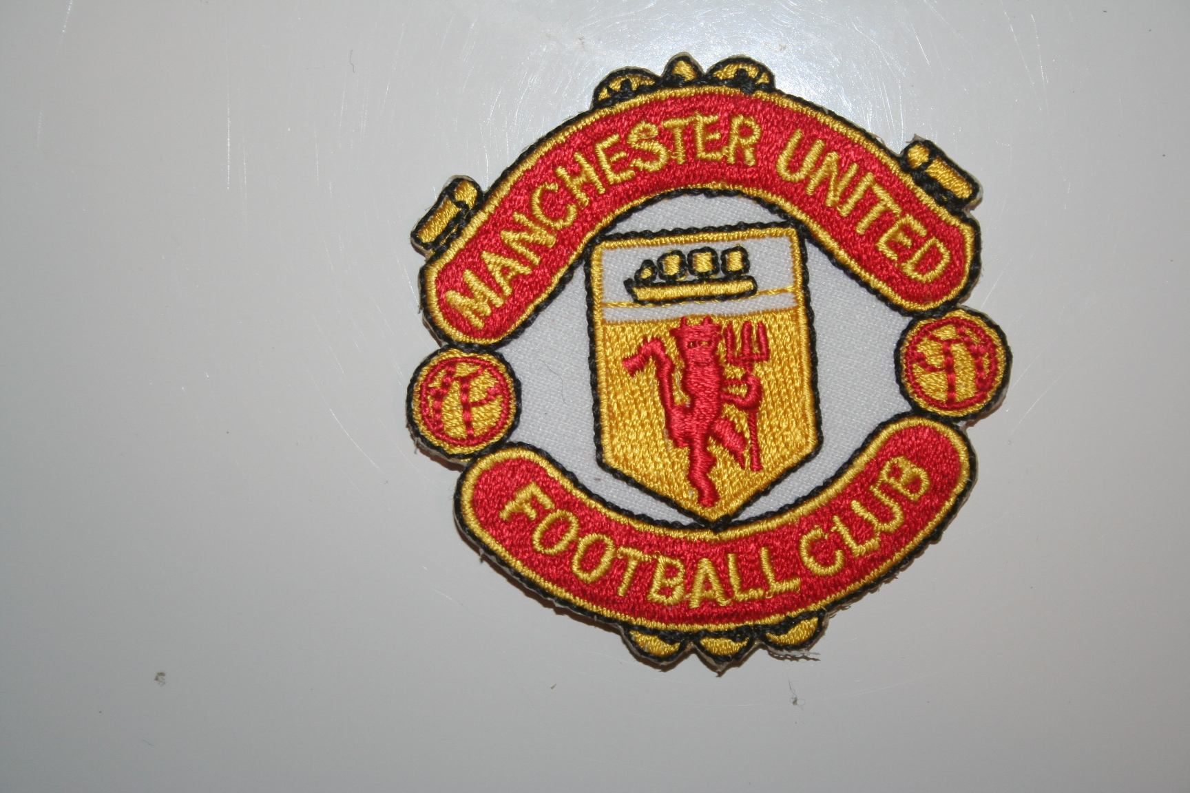Manchester United Patch Crest Badge Fc Football Club Soccer