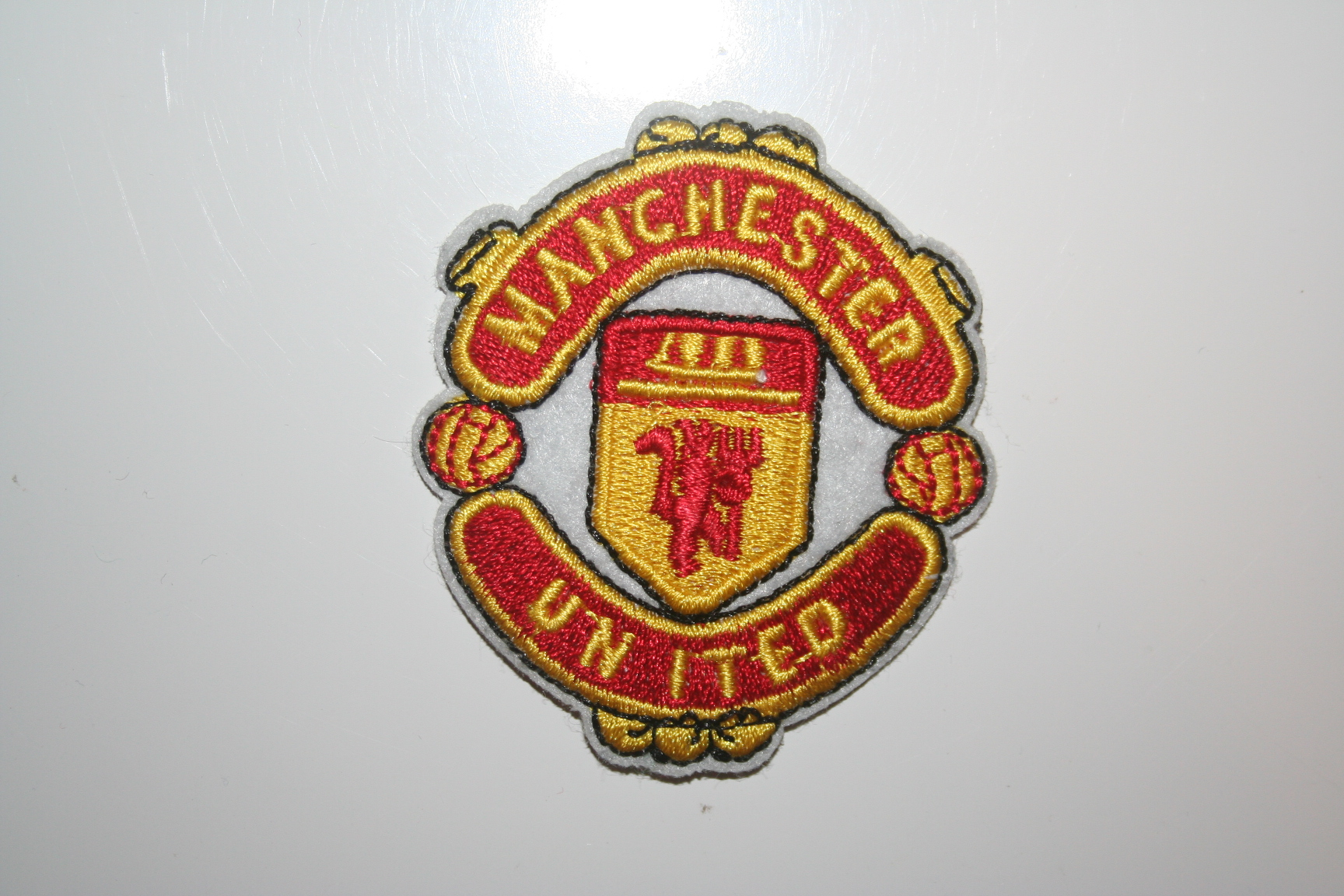 Manchester United Patch Crest Badge Football Club Soccer