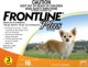 Frontline® Plus (Orange) Dog 2 - 22.5 Lbs  (0 to 10 kg) (3 Month Pack)