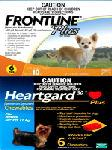 Frontline® Plus - Heartgard Plus - Combo - for Small Dogs