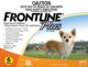 Frontline® Plus (Orange) Small Dog 1 to 22.5 Lbs (0 to 10 kg) 6 months Pack