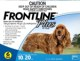 Frontline® Plus for Dogs (22 to 44lbs) 10 to 20kg (6 Month Pack)