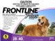 Frontline® Plus for Dogs (44 to 88lbs) 20 to 40kg (3 Month Pack)