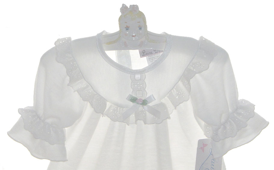 white nightgown for baby girls nightgown,baby Christmas nightgown ...