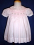 "<img src=""https://p11.secure.hostingprod.com/@grammies-attic.com/ssl/images/blue-sold-1.gif""> Carriage Boutiques Palest Pink Smocked Dress with Matching Bonnet"