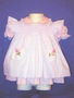 "<img src=""https://p11.secure.hostingprod.com/@grammies-attic.com/ssl/images/blue-sold-1.gif""> Pink Nannette Dress with White Smocked Pinafore"