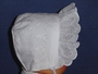 "<img src=""https://p11.secure.hostingprod.com/@grammies-attic.com/ssl/images/blue-sold-1.gif""> NEW White Eyelet Bonnet with Embroidered Hearts"
