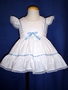 "<img src=""https://p11.secure.hostingprod.com/@grammies-attic.com/ssl/images/blue-sold-1.gif""> White Pinafore with Lace & Blue Satin Ribbon Trim"