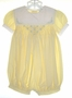 "<img src=""https://p11.secure.hostingprod.com/@grammies-attic.com/ssl/images/blue-sold-1.gif""> Rosey Kids Smocked Yellow Seersucker Bubble with Embroidery"