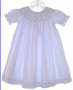 "<img src=""https://p11.secure.hostingprod.com/@grammies-attic.com/ssl/images/blue-sold-1.gif""> Cornflower Blue Smocked Bishop Dress with Blue Embroidery"