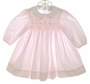 "<img src=""https://p11.secure.hostingprod.com/@grammies-attic.com/ssl/images/blue-sold-1.gif""> Petit Ami Pink Smocked Long Sleeved Baby Dress"
