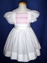 "<img src=""https://p11.secure.hostingprod.com/@grammies-attic.com/ssl/images/blue-sold-1.gif""> Handmade White Pinafore with Pink Smocking for Big Sister"