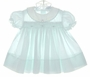 "<img src=""https://p11.secure.hostingprod.com/@grammies-attic.com/ssl/images/blue-sold-1.gif""> Petit Ami Pale Green Smocked Dress with Embroidered Rosebuds"