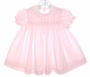 "<img src=""https://p11.secure.hostingprod.com/@grammies-attic.com/ssl/images/blue-sold-1.gif""> Baby Togs Pale Pink Smocked Dress with Rosebuds Embroidery"