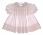 "<img src=""https://p11.secure.hostingprod.com/@grammies-attic.com/ssl/images/blue-sold-1.gif""> Sarah Louise Pale Pink Pleated Baby Dress with Tiny Embroidered Flowers"