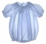 "<img src=""https://p11.secure.hostingprod.com/@grammies-attic.com/ssl/images/blue-sold-1.gif""> NEW Feltman Brothers Blue Bishop Smocked Baby Bubble"