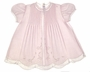 "<img src=""https://p11.secure.hostingprod.com/@grammies-attic.com/ssl/images/blue-sold-1.gif""> NEW Feltman Brothers Pale Pink Batiste Dress with Lace Insertion and Embroidery"