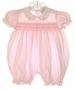 "<img src=""https://p11.secure.hostingprod.com/@grammies-attic.com/ssl/images/blue-sold-1.gif""> Petit Ami Pink Striped Bubble with Smocking and Embroidery"
