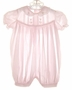 "<img src=""https://p11.secure.hostingprod.com/@grammies-attic.com/ssl/images/blue-sold-1.gif""> Petit Ami Pale Pink Baby Girl's Bubble with Pintucks and Embroidery"