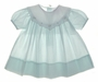 "<img src=""https://p11.secure.hostingprod.com/@grammies-attic.com/ssl/images/blue-sold-1.gif""> Petit Ami Pale Green Baby Dress with White Embroidered Portrait Collar"
