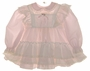 "<img src=""https://p11.secure.hostingprod.com/@grammies-attic.com/ssl/images/blue-sold-1.gif""> Bryan Pale Pink Baby Dress with White Lacy Pinafore"