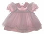 "<img src=""https://p11.secure.hostingprod.com/@grammies-attic.com/ssl/images/blue-sold-1.gif""> Petit Ami Pale Pink Baby Dress with Embroidered White Pinafore"
