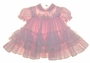 "<img src=""https://p11.secure.hostingprod.com/@grammies-attic.com/ssl/images/blue-sold-1.gif""> Pink Striped Dress with Lacy Ruffled Pink Dotted Pinafore"
