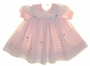 "<img src=""https://p11.secure.hostingprod.com/@grammies-attic.com/ssl/images/blue-sold-1.gif""> Pink Dress and White Pinafore with Swiss Embroidered Trim"