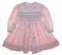 "<img src=""https://p11.secure.hostingprod.com/@grammies-attic.com/ssl/images/blue-sold-1.gif""> Sarah Louise Rose Taffeta Smocked Dress with Satin Ribbon Trim"