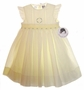 "<img src=""https://p11.secure.hostingprod.com/@grammies-attic.com/ssl/images/blue-sold-1.gif""> NEW Sarah Louise Pale Yellow Sleeveless Smocked Dress"