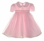 "<img src=""https://p11.secure.hostingprod.com/@grammies-attic.com/ssl/images/blue-sold-1.gif""> NEW Will'beth Pink Smocked Toddler Dress with Lace Trimmed Organdy Overlay"