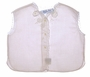 "<img src=""https://p11.secure.hostingprod.com/@grammies-attic.com/ssl/images/blue-sold-1.gif""> NEW Feltman Brothers Pale Pink Diaper Shirt with Appliqued Flowers and Lace Edging"